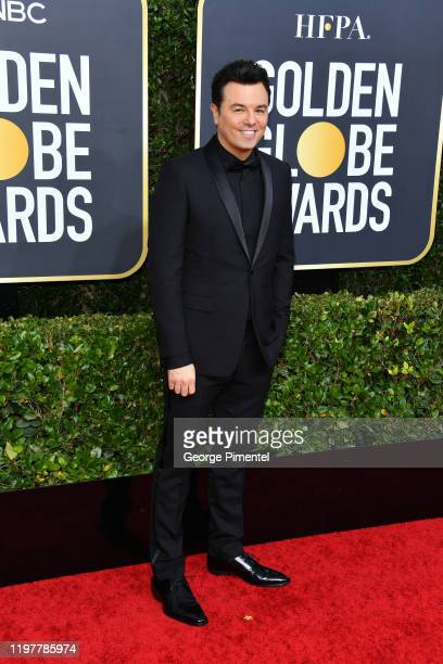 Seth MacFarlane attends the 77th Annual Golden Globe Awards at The Beverly Hilton Hotel on January 05, 2020 in Beverly Hills, California.