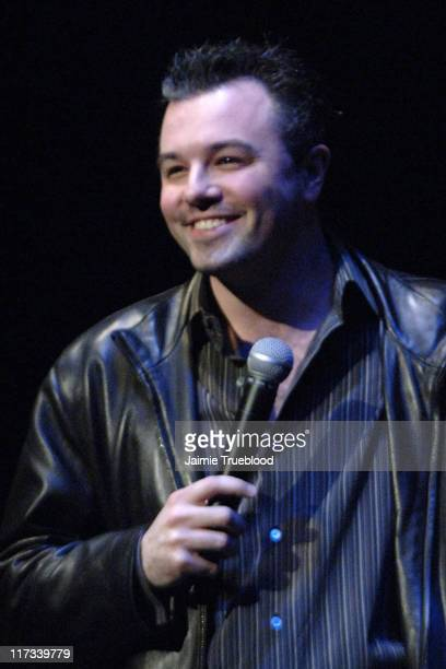 Seth MacFarlane creator during 'Family Guy' Live at El Capitan in Los Angeles California United States