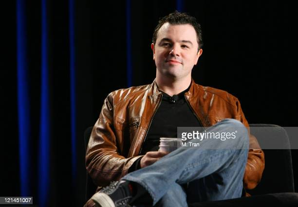 """Seth MacFarlane during """"Star Wars"""" Celebration IV - Day 4 at Los Angeles Convention Center in Los Angeles, California, United States."""
