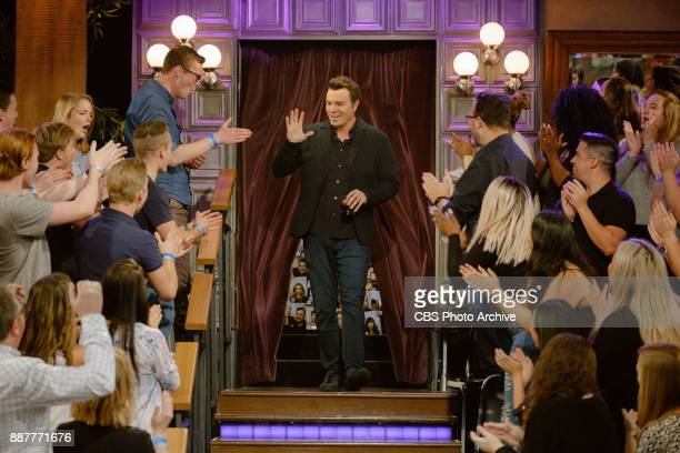 Seth MacFarlane greets the audience during 'The Late Late Show with James Corden' Wednesday December 6 2017 On The CBS Television Network