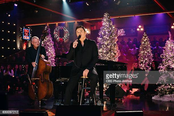 Seth MacFarlane performs during The Late Late Show with James Corden Thursday December 15 2016 On The CBS Television Network