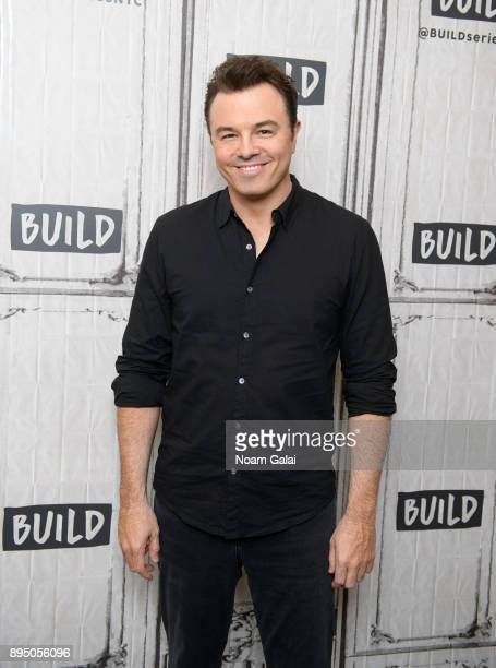 Seth MacFarlane visits Build Series to discuss 'In Full Swing' at Build Studio on December 18 2017 in New York City
