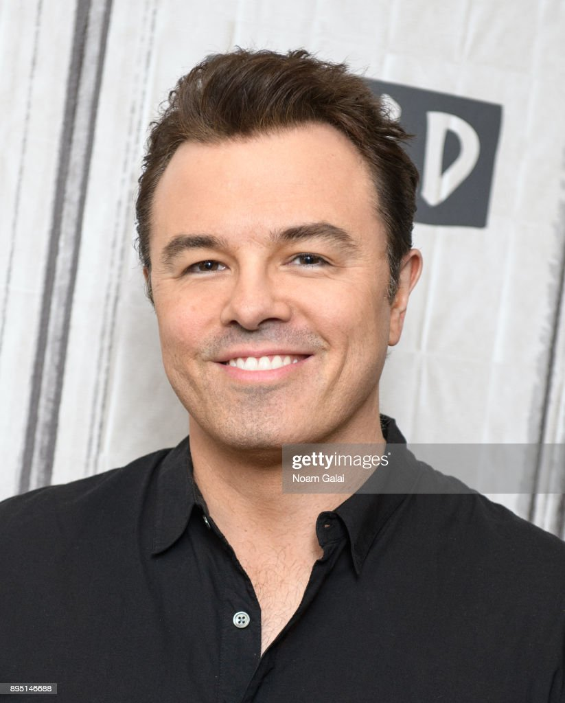 Seth MacFarlane visits Build Series to discuss 'In Full Swing' at Build Studio on December 18, 2017 in New York City.