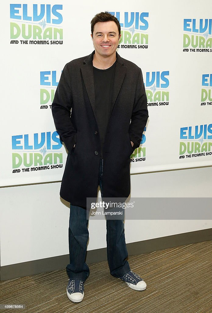 "Seth MacFarlane  Visits ""The Elvis Duran Z100 Morning Show"""