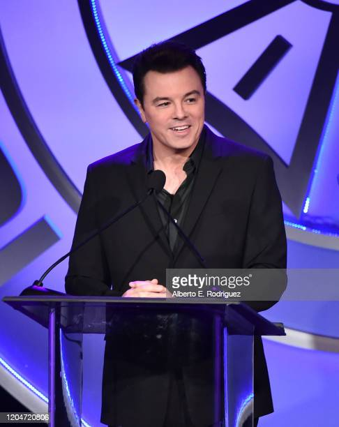 Seth McFarlane attends the 57th Annual ICG Publicists Awards at The Beverly Hilton Hotel on February 07 2020 in Beverly Hills California