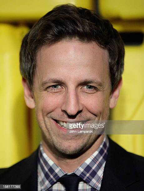 Seth Meyers attends 7th Annual Charity Ball benefiting CharityWater at the 69th Regiment Armory on December 10 2012 in New York City