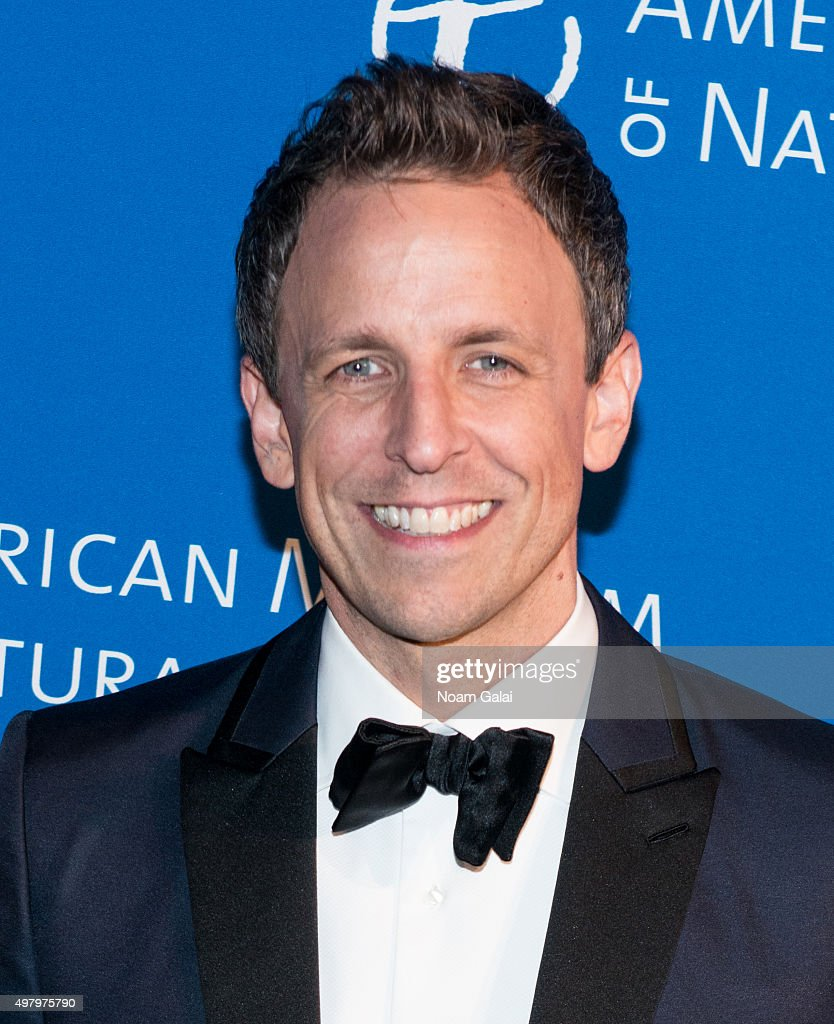 Seth Meyers attends the 2015 American Museum of Natural History Museum Gala at American Museum of Natural History on November 19, 2015 in New York City.