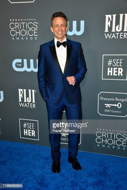 Seth Meyers attends the 25th Annual Critics' Choice Awards at Barker Hangar on January 12 2020 in Santa Monica California