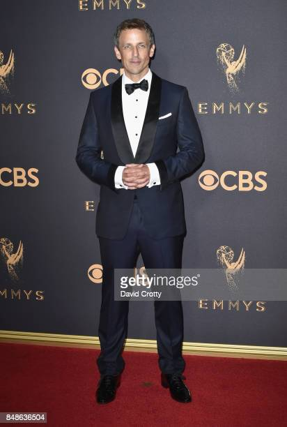 Seth Meyers attends the 69th Annual Primetime Emmy Awards at Microsoft Theater on September 17 2017 in Los Angeles California