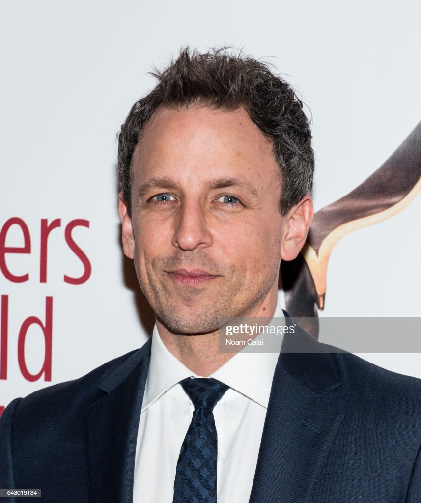 Seth Meyers attends the 69th Annual Writers Guild Awards New York