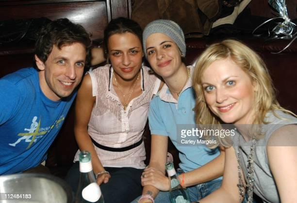Seth Meyers Charlotte Ronson Samantha Ronson and Amy Poehler