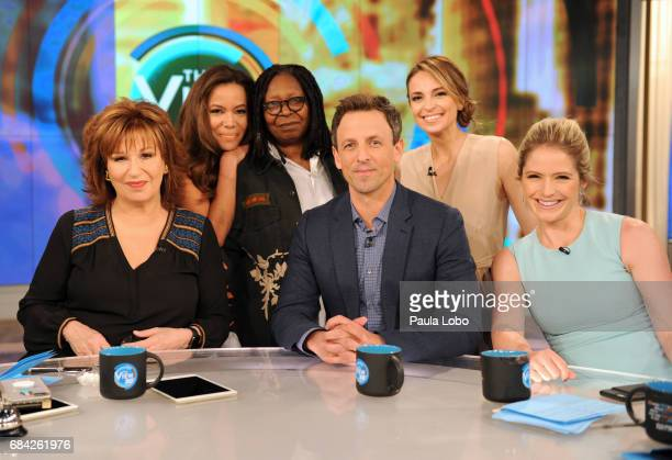 THE VIEW Seth Meyers is the guest Wednesday May 17 2017 on Walt Disney Television via Getty Images's The View The View airs MondayFriday on the Walt...