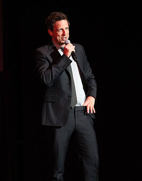 Seth Meyers Performs During The South Beach Comedy Festival At Fillmore Miami On April 18