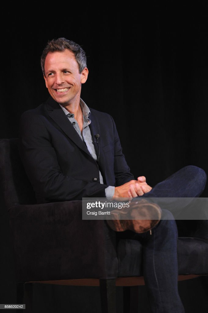 The 2017 New Yorker Festival - Seth Meyers Talks With The New Yorker's Ariel Levy