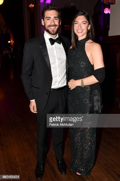 Seth Miller and Alexandra Lange attend the 2017 Hot Pink Party 'Super Nova' presented by the Breast Cancer Research Foundation at Park Avenue Armory...