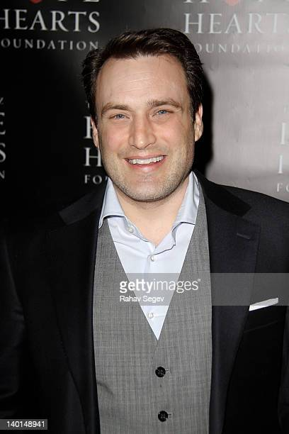 Seth Overmyer attend the Eric De La Cruz Hope for Hearts Foundation benefit at The Vinatta Project on February 28, 2012 in New York City.