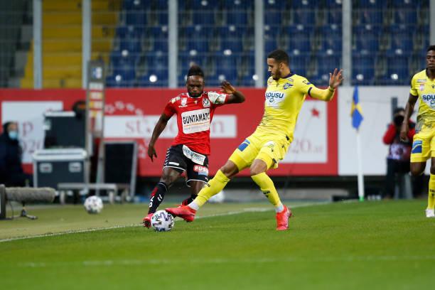 AUT: spusu SKN St. Poelten v SV Guntamatic Ried - tipico Bundesliga
