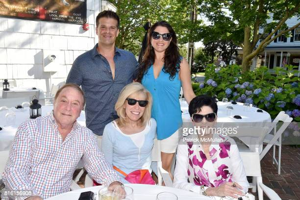 Seth Ratner, Lauren Shell, Allan Lazare, Shelley Goldberg and Arlene Lazare attend the Private Hamptons Preview of The Ritz-Carlton Residences, Sunny...