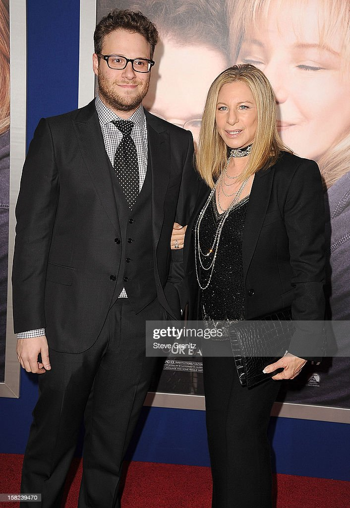 Seth Rogen and Barbra Streisand arrives at the 'The Guilt Trip' - Los Angeles Premiere at Regency Village Theatre on December 11, 2012 in Westwood, California.