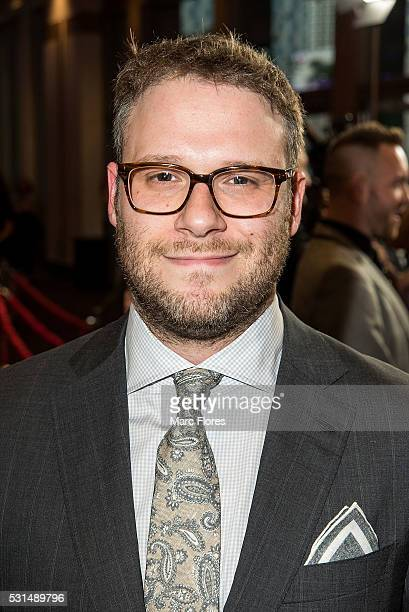 Seth Rogen arrives at the premiere of AMC's 'Preacher' at Regal LA Live Stadium 14 on May 14 2016 in Los Angeles California