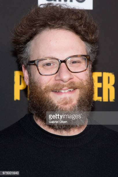 Seth Rogen arrives for AMC's 'Preacher' season 3 premiere party at The Hearth and Hound on June 14 2018 in Los Angeles California