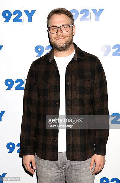 Seth Rogen attends a screening of Preacher at 92nd Street Y on May 19 2016 in New York City