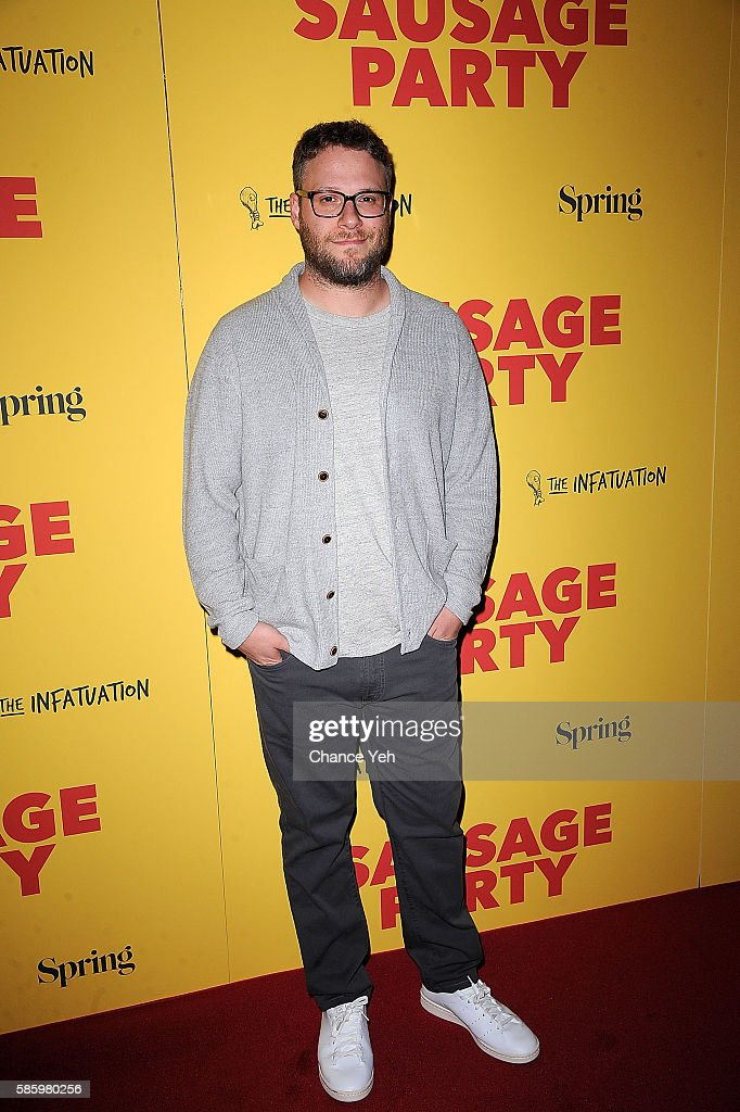 Seth Rogen attends 'Sausage Party' New York premiere at Sunshine Landmark on August 4, 2016 in New York City.