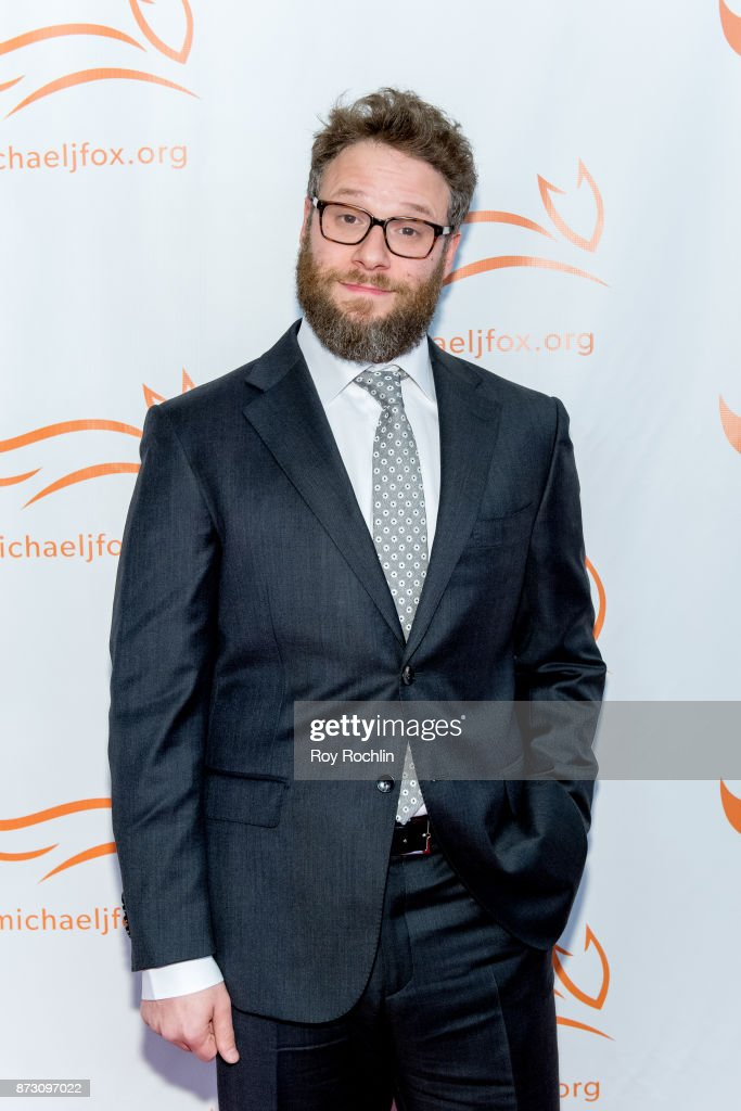 Seth Rogan attends the 2017 a funny thing happened on the way to cure Parkinson's benefitting The Michael J. Fox Foundation at the Hilton New York on November 11, 2017 in New York City.
