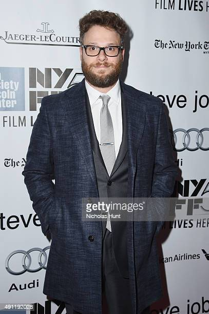 Seth Rogen attends the 53rd New York Film Festival 'Steve Jobs' at Alice Tully Hall Lincoln Center on October 3 2015 in New York City