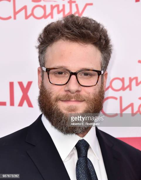 Seth Rogen attends the 6th Annual Hilarity For Charity at The Hollywood Palladium on March 24 2018 in Los Angeles California