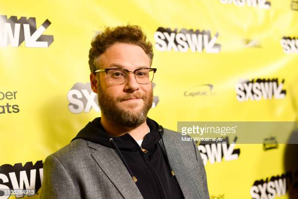 "Seth Rogen attends the ""Good Boys"" Premiere 2019 SXSW Conference and Festivals at Paramount Theatre on March 11, 2019 in Austin, Texas."