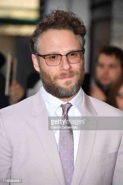 Seth Rogen attends the Long Shot special screening at Curzon Cinema Mayfair on April 25 2019 in London England