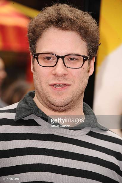 Seth Rogen Attends The Los Angeles Premiere Of Kung Fu Panda 2 At Graumans