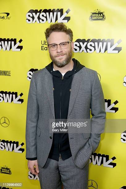 Seth Rogen attends the premiere of 'Good Boys' during the 2019 SXSW Conference and Festivals at the Paramount Theatre on March 11, 2019 in Austin,...