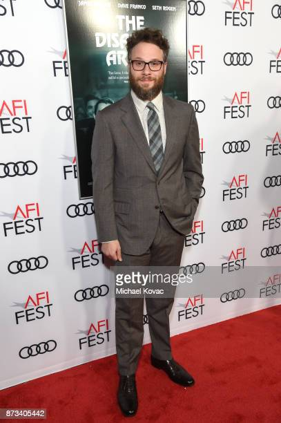 Seth Rogen attends the screening of 'The Disaster Artist' at AFI FEST 2017 Presented By Audi at TCL Chinese Theatre on November 12 2017 in Hollywood...