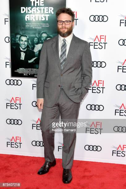 Seth Rogen attends the screening of The Disaster Artist at AFI FEST 2017 Presented By Audi at TCL Chinese Theatre on November 12 2017 in Hollywood...