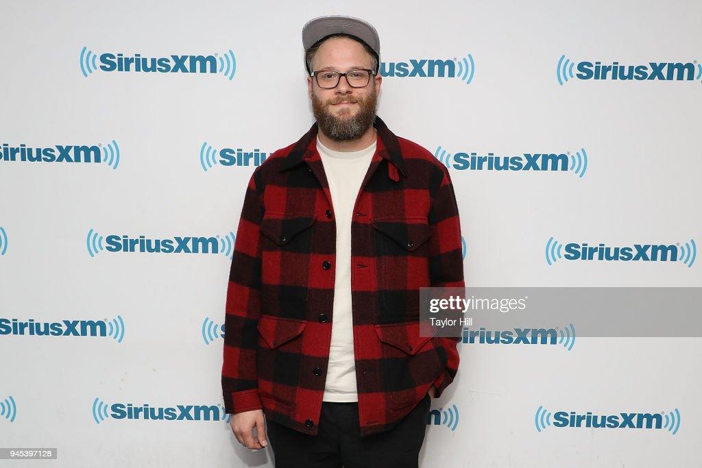 Celebrities Visit SiriusXM - April 12, 2018 : News Photo