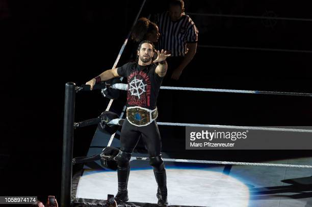 Seth Rollins during the WWE Live Show at Lanxess Arena on November 7 2018 in Cologne Germany
