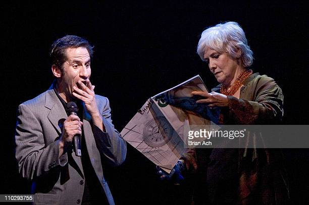 Seth Rudetsky and Betty Buckley during Broadway Backwards to Benefit the Lesbian Gay Bisexual and Transgender Community Center at 37 Arts in New York...