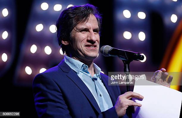 Seth Rudetsky attends BroadwayCon 2016 at the Hilton Midtown on January 24 2016 in New York City