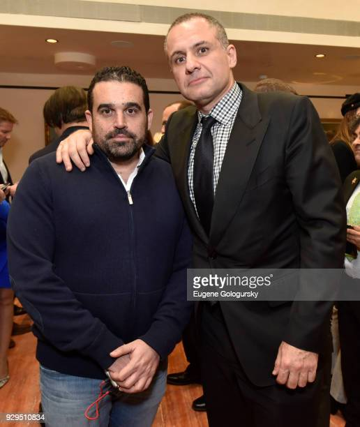 Seth Semilof and Ronn Torossian attend the Ambassador Paolo Zampolli Reception on March 8 2018 in New York City