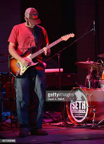 Seth Stainback of Seth Stainback Roosterfoot performs live at the American Music Festival on September 5 2015 in Virginia Beach Virginia