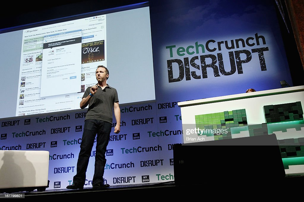 Seth Steinberg of Google speaks onstage at the TechCrunch Disrupt NY 2013 at The Manhattan Center on April 30, 2013 in New York City.