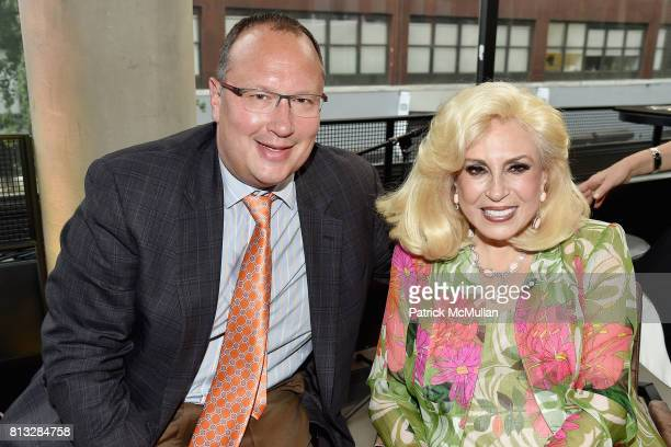 Seth Stern and Harriette Rose Katz attend The Chosen Few's Third Anniversary Hosted by Harriette Rose Katz at Second on July 11 2017 in New York City