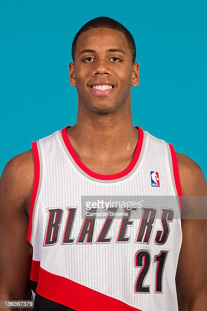 Seth Tarver of the Portland Trail Blazers poses for a portrait during Media Day on December 16 2011 at the Rose Garden Arena in Portland Oregon NOTE...