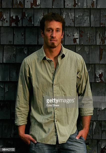 Seth Wescott, a member of the USA Olympic Snowboard team, poses for a portrait near his home in Sugarloaf, Maine. Wescott leads the U.S. Medal charge...