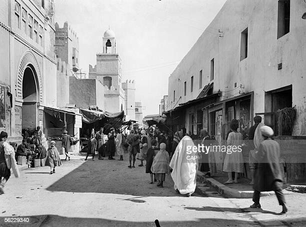 Setif A shopping street About 1930 CAP 529