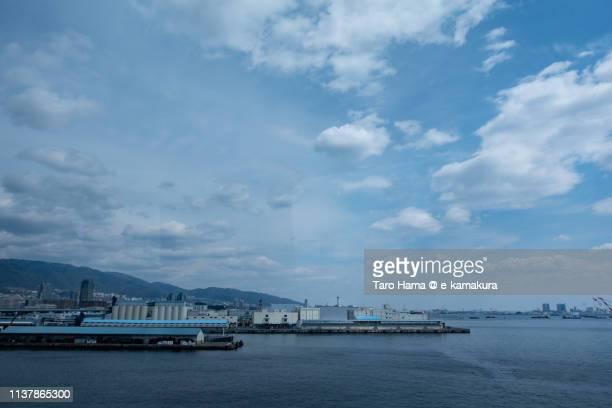 seto inland sea and kobe in japan - 沿岸 ストックフォトと画像