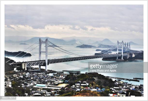 Seto Ohashi bridge from Washuzan