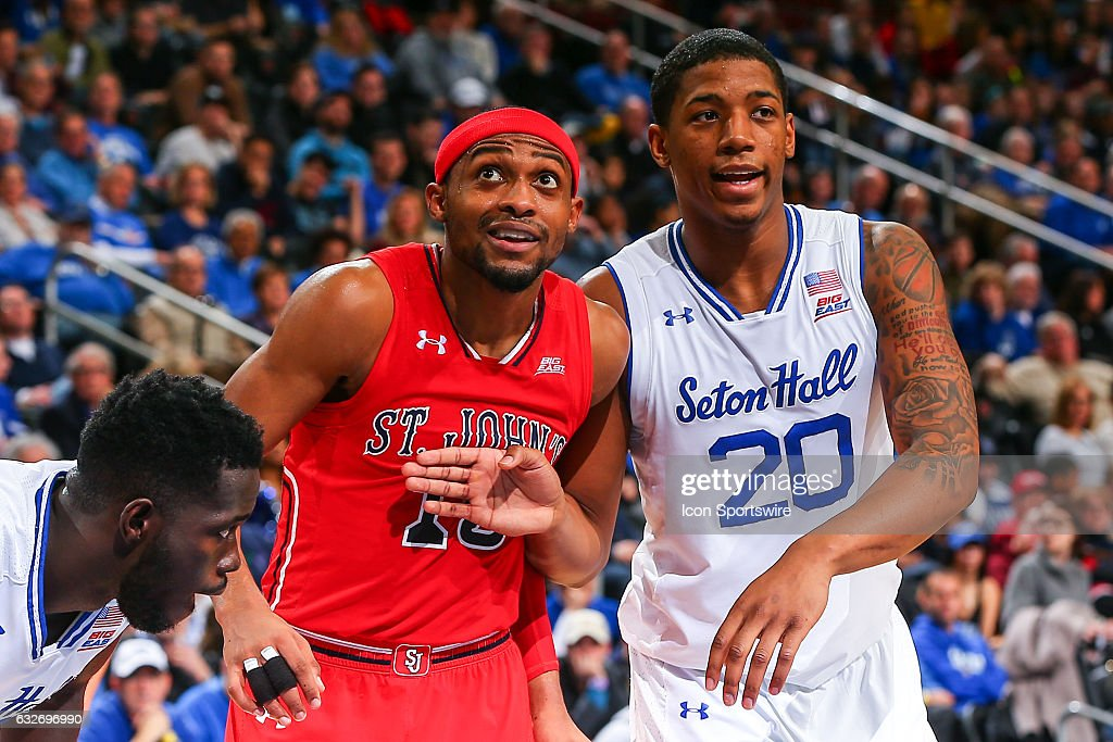 NCAA BASKETBALL: JAN 22 St John's at Seton Hall : News Photo